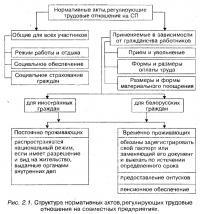 Рис. 2.1. Структура нормативных актов